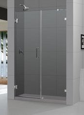 Frameless DreamLine shower door