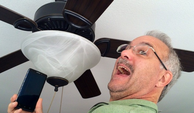 Ceiling fans and smartphones