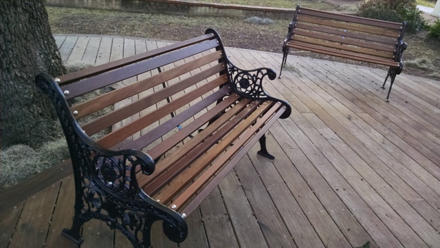 Park bench resurrection