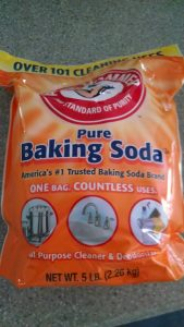 Did you know baking soda is available in 5-pound bags?