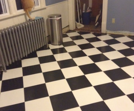 Ordinaire How To Install A Kitchen Floor And Stay Married